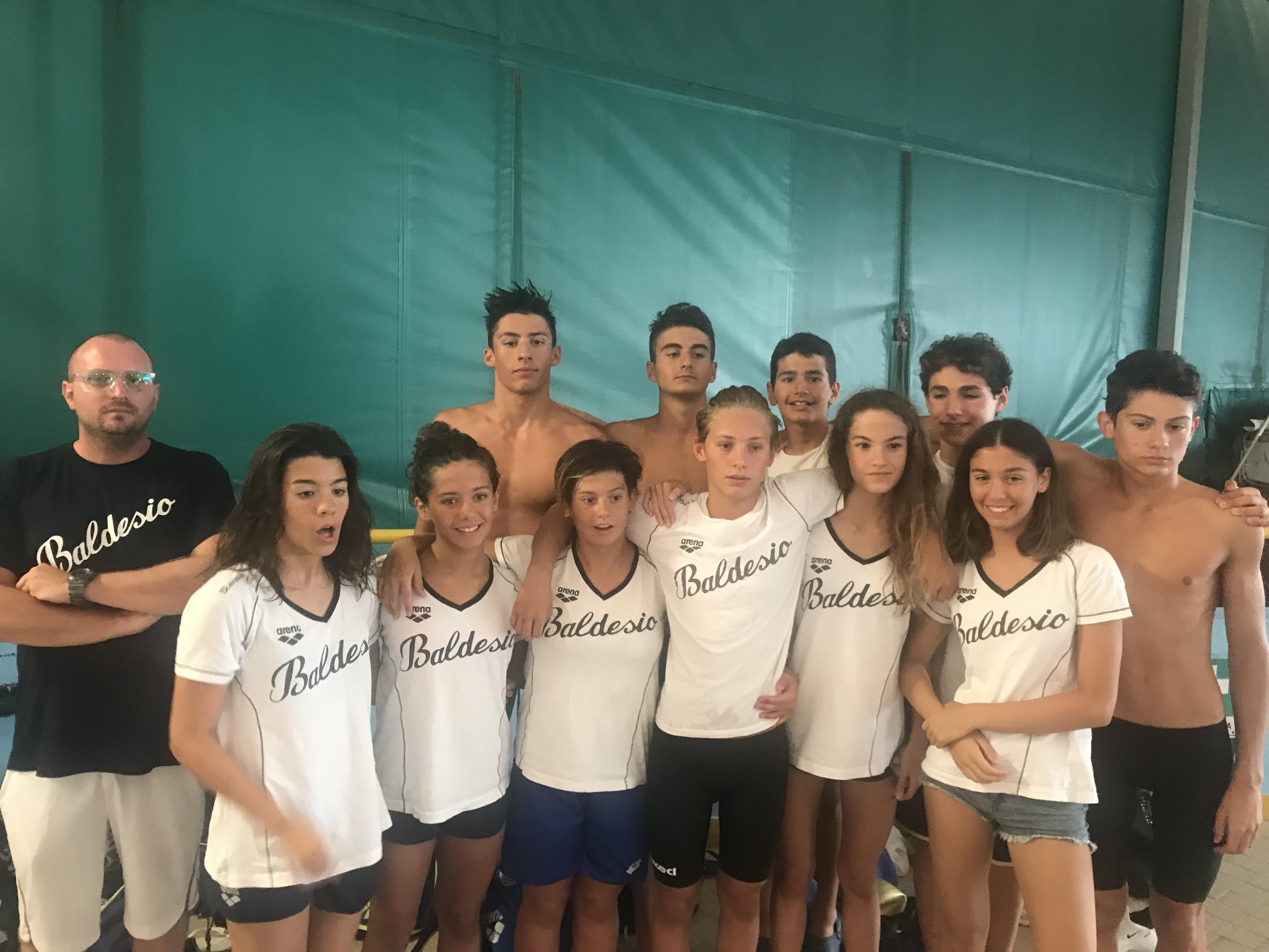 Vasca Da 25 Metri Tempi : Nuoto agonisti: al campionato italiano a squadre categoria ragazzi
